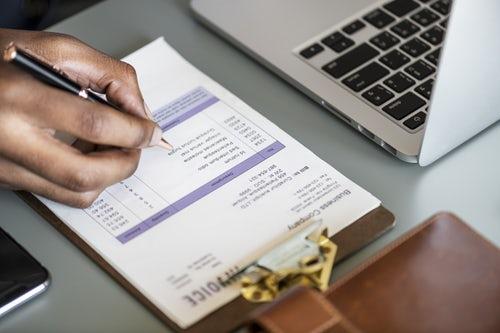 Invoice Writing