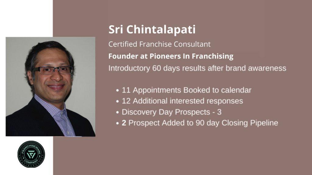 Sri Chintalapati - Franchiseware Company